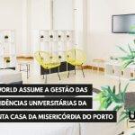 U-World assume a gestão das residências universitárias da Santa Casa da Misericórdia do Porto